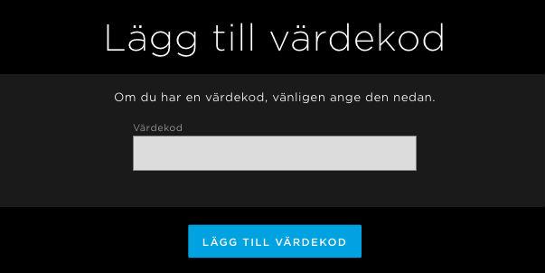 Aktivera HBO Nordic rabattkod