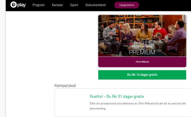 Dplay Premium free rabattkod